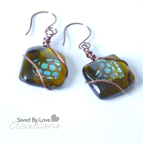 how to make fused glass jewelry beginner s glass fusing recycled glass dichroic earrings