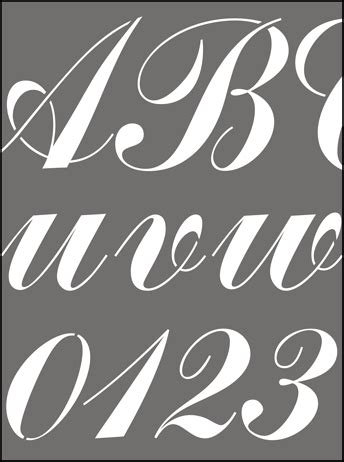 where to buy alphabet lettering stencils from the stencil library buy lettering