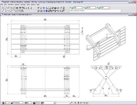 woodworking drawing software furniture cad software pdf woodworking