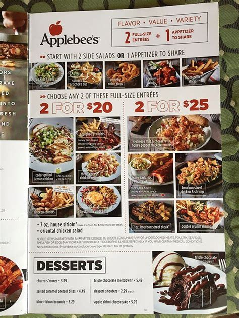 Applebees Menu With Prices Restaurant Meal Prices | Autos Post Applebee's Menu Prices Burger