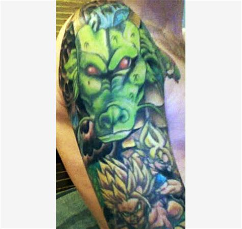 dragon ball tattoos shenron the dao of dragon ball
