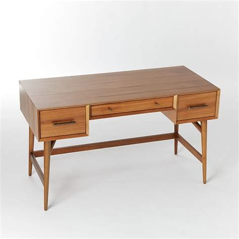 mid century office desk mid century desk acorn west elm