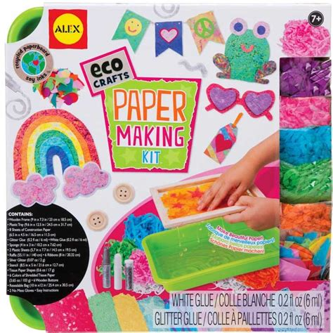paper craft kit paper kit eco craft educational toys planet