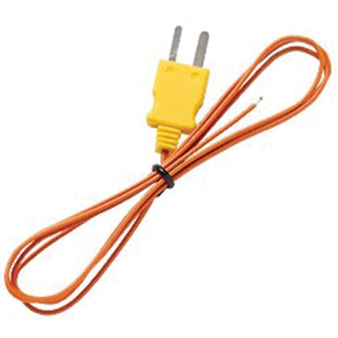 bead type thermocouple fluke suregrip 80pj 1 beaded type j thermocouple probe