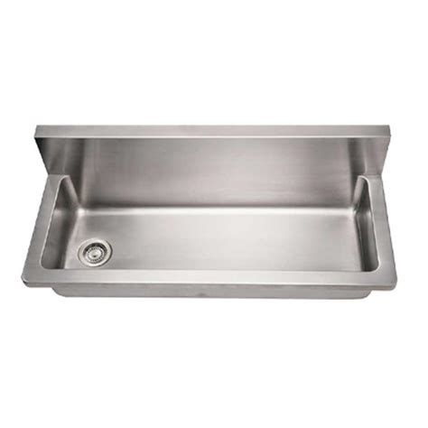 mount kitchen sinks whitehaus collection noah s collection wall mount brushed