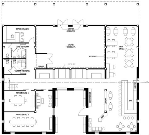 restaurant floor plan with dimensions 21 best cafe floor plan images on architecture