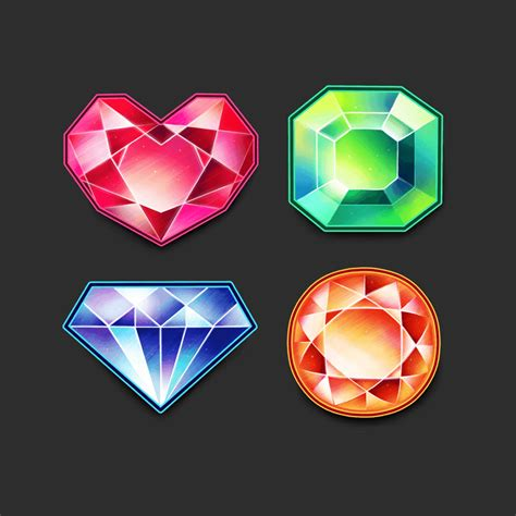 paint tool sai icon how to create a set of vibrant gem icons in paint tool sai