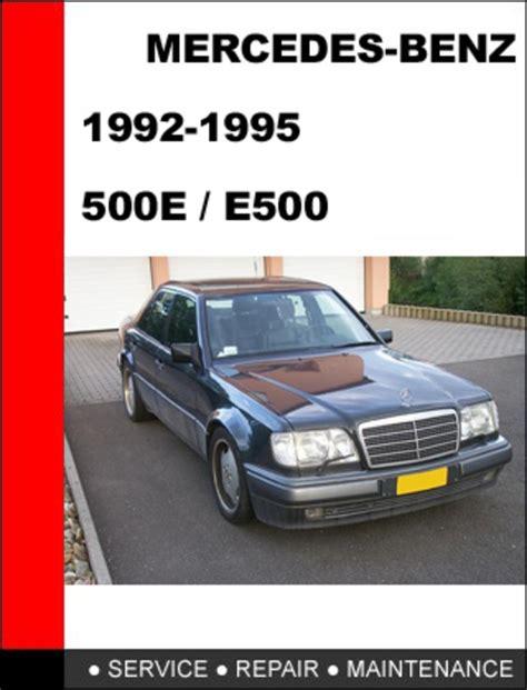 mercedes benz 500e e500 1992 1995 service repair manual download