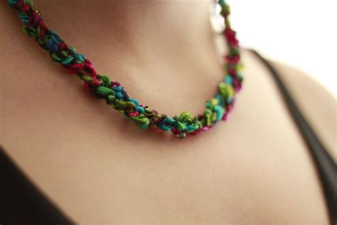 25 Cool Crochet Necklace Patterns Guide Patterns