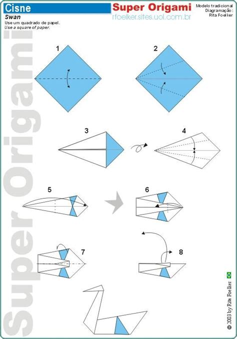 how to make a origami easy step by step origami swan origami paper creations