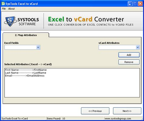 how to make a v card excel to vcard converter freeware
