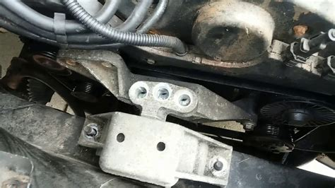 small engine repair training 2008 saturn vue electronic toll collection do it yourself 03 saturn vue awd v6 3 0 remove motor mount and replace serpentine belt youtube