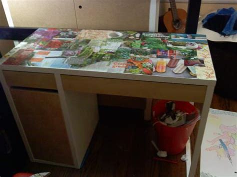 decoupage desk decoupage desk 183 how to make a table 183 decorating resin