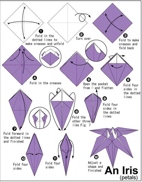 how to make origami paper folding paper folding flower vidyapeethindia