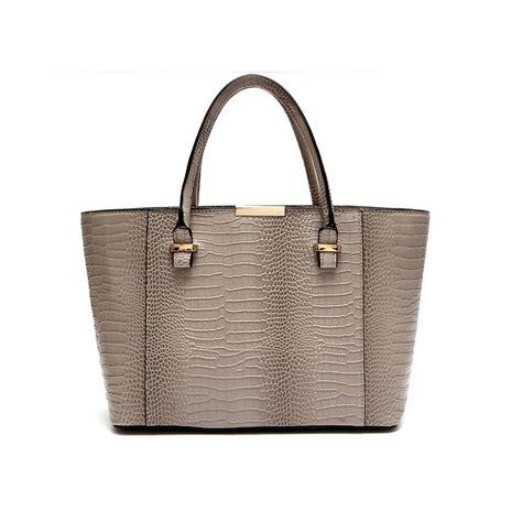 croc embossed leather handbags designer leather handbags crocodile embossed tote bag classic shoulder bags