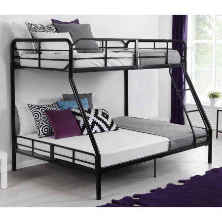 mainstays bunk bed mainstays metal bunk bed black walmart
