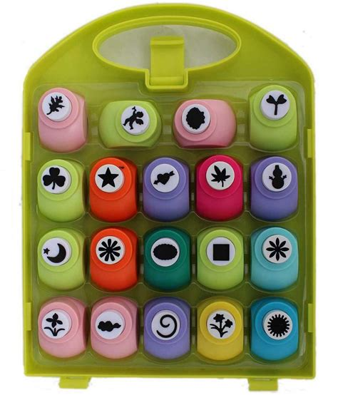 craft paper punch set tootpado craft paper punch set with box buy at
