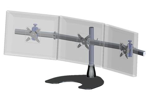 ergotech horizontal lcd monitor arm desk stand