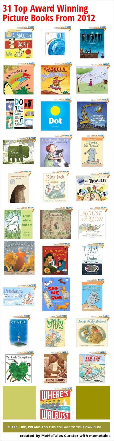 award winning picture books 31 top award winning picture books from 2012 newbery