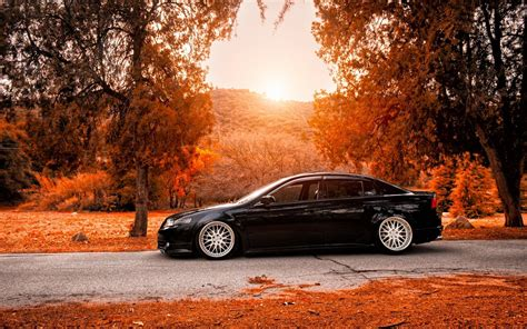 Car Landscape Wallpaper by Honda Acura Tuning Car Road Autumn Wallpaper Nature And