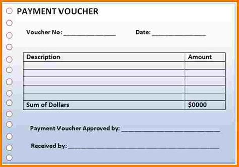 payment voucher template authorization letter pdf