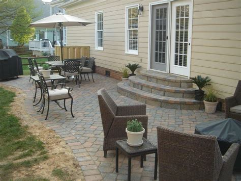 how to patio pavers what are my options for paver steps or patio steps