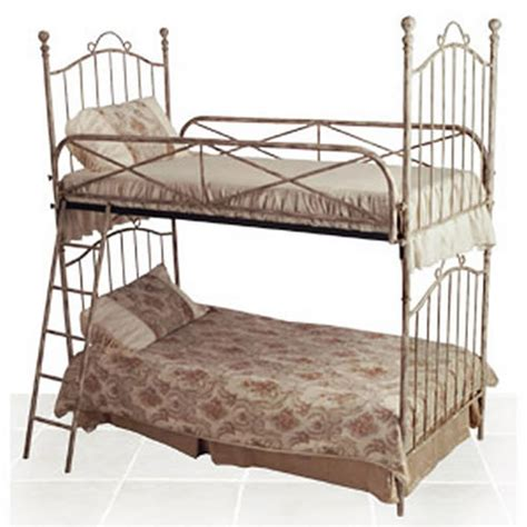 antique bunk beds vintage iron bunk bed by corsican iron furniture