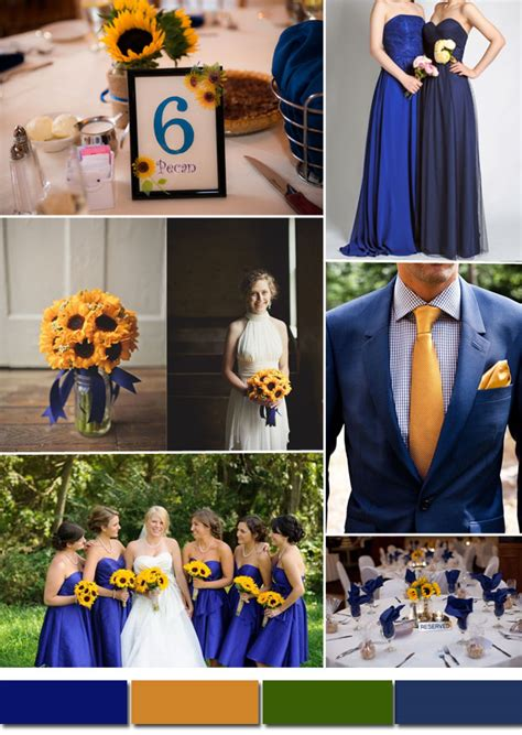 royal color scheme classic royal blue wedding color ideas and bridesmaid