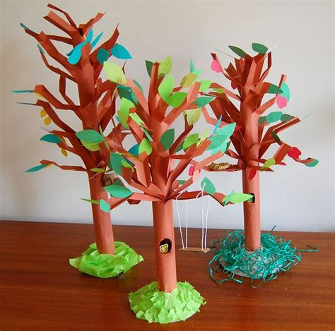 how to make arts and crafts out of paper 25 best ideas about 3d tree on tree crafts