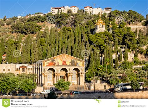 Gärten Der Nationen by Gethsemane And The Church Of All Nations In Jerusalem