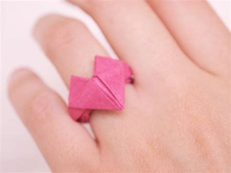 origami wedding ring 17 best images about origami ring on