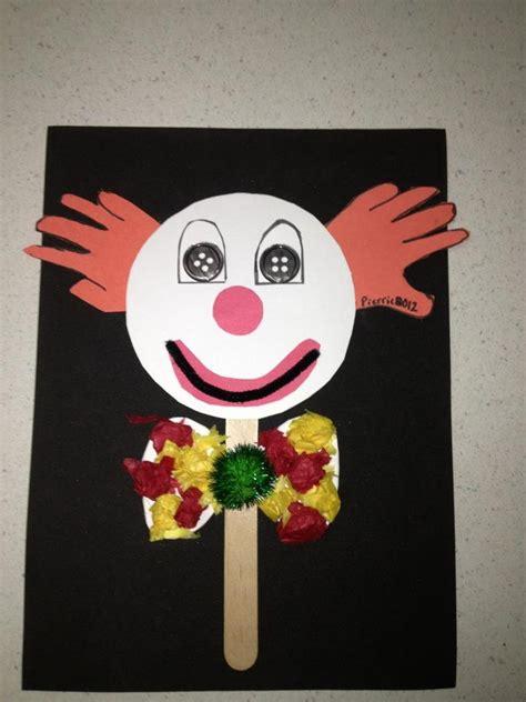 clown crafts for clown craft