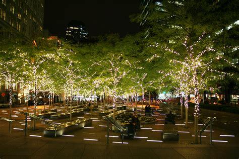 lights parks file zuccotti park with lights jpg wikimedia
