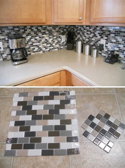 low cost diy kitchen backsplash ideas and tutorials 20 low cost diy kitchen backsplash ideas and tutorials