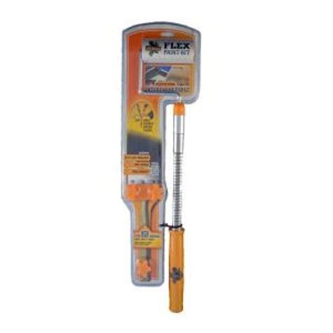 home depot paint brushes and rollers mccauley brush and roller flex paint kit 207696 the home