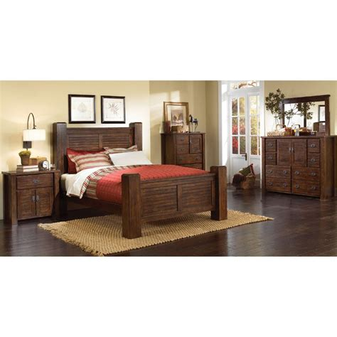 cal king bedroom furniture set trestlewood 6 cal king bedroom set