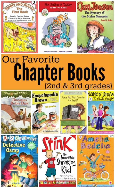 picture books for third graders favorite chapter books series