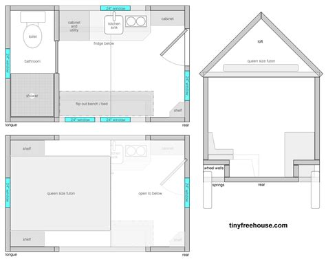 tiny home floor plans how much should tiny house plans cost the tiny