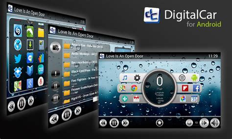 Car Apps For Computer by Digital Car Front End For Android Tablet Android