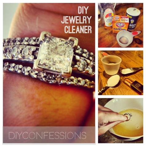 make jewelry cleaner diy rings ring cleaner and households on