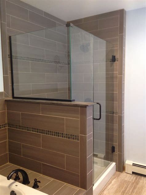 seamless glass doors finished product seamless glass shower door addition