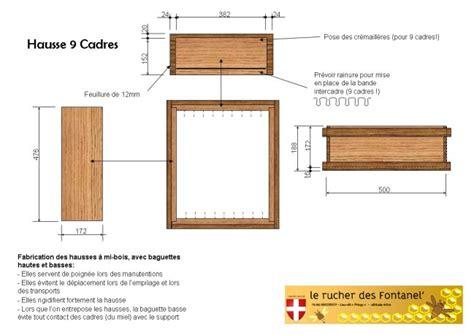 fabrication et plan de ruche dadant 10 cadres le de rucher fontanel