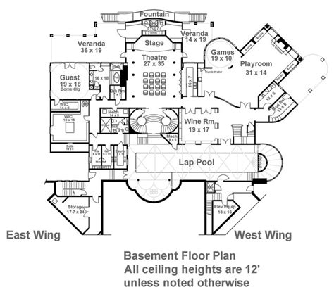 balmoral floor plan balmoral 6048 12 bedrooms and 12 baths the house designers
