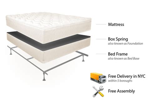 free bed frame with mattress easy rest mattress set bed frame free delivery set
