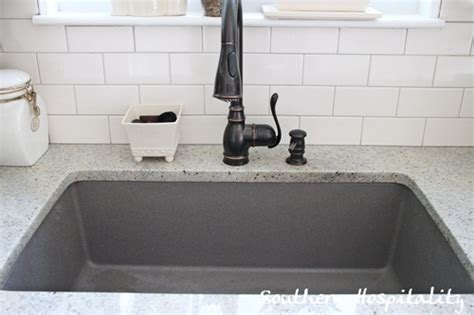 gray kitchen sink blanco metallic gray sink southern hospitality