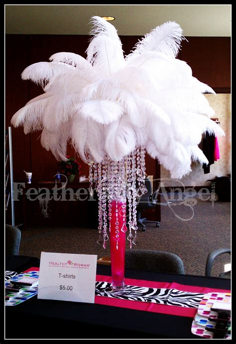 feathers for centerpieces feather centerpieces feathers by s