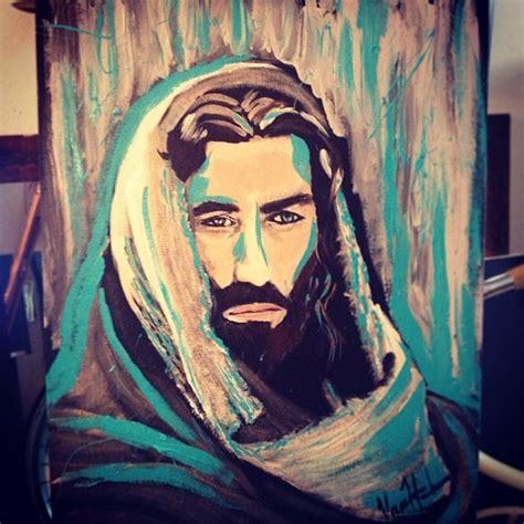 25 Unique Christian Paintings Ideas On