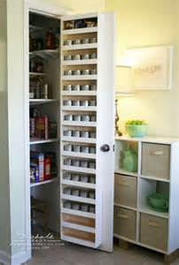 Custom Made Kitchen Cabinet Doors spice rack storage solutions sand and sisal