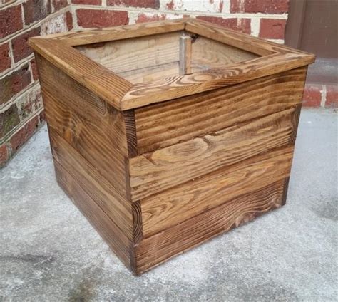 pallet planter boxes for balcony pallet furniture plans