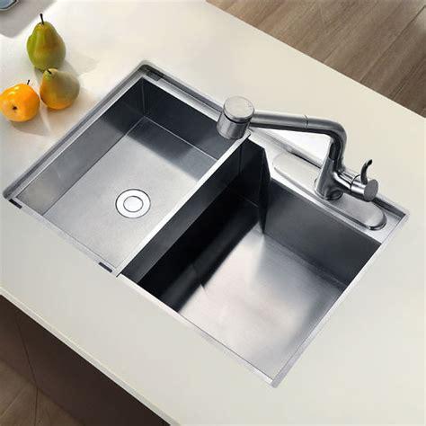 square kitchen sinks sinks undermount square single bowl kitchen sink 18